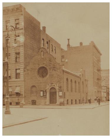 Prime Iglesia Bautista Hispana de Manhattan, 1927